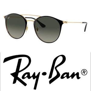 Ray-Ban • Double Bridge Classic Black Sunglasses